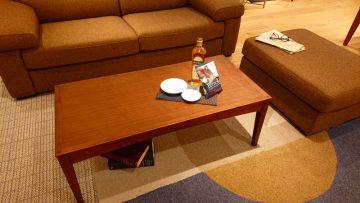 A-BOSCOリビングテーブル スタイリッシュな造形がモダンなお部屋によく合います。